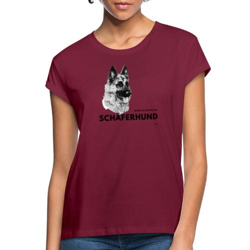 Home is where my Schäferhund is ! - Frauen Oversize T-Shirt