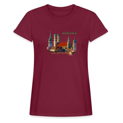 München Frauenkirche - Frauen Oversize T-Shirt