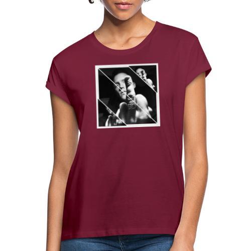 FU striped - Oversize-T-shirt dam