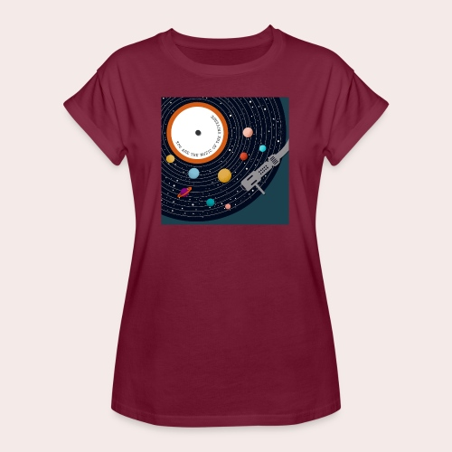 You Are The Music Of The Universe - Frauen Oversize T-Shirt