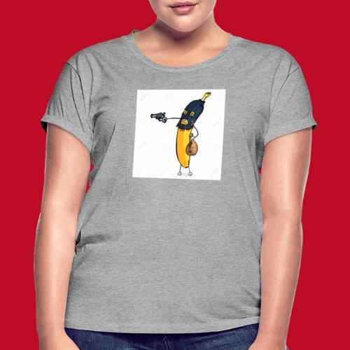RøverBananen - Dame oversize T-shirt