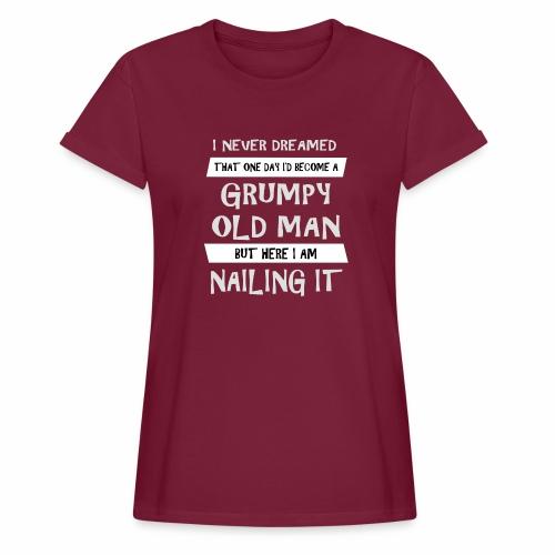 Grumpy 2 - Dame oversize T-shirt