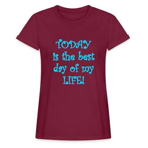 Carpe Diem 21.2 - Frauen Oversize T-Shirt