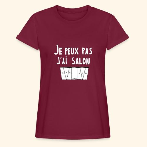 Je Peux pas j ai salon - T-shirt oversize Femme