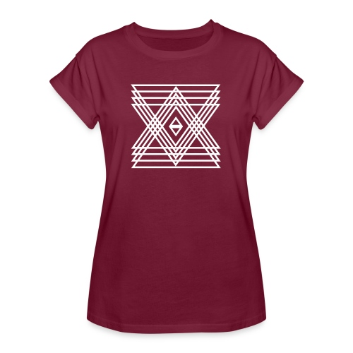 INDIE - Frauen Oversize T-Shirt