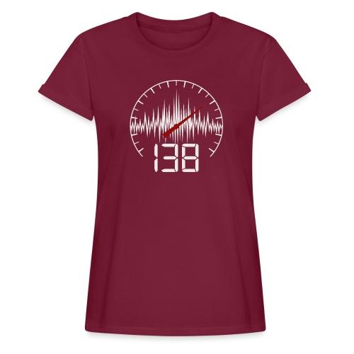 138 (White) - Oversize-T-shirt dam