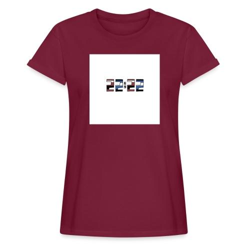 22:22 buttons - Vrouwen oversize T-shirt