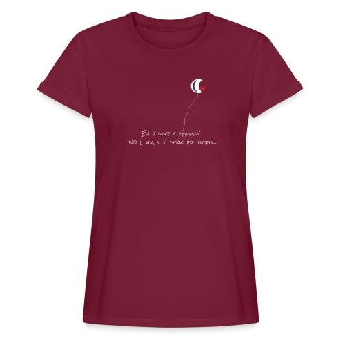 CUORE-E-LUNA - Maglietta ampia da donna