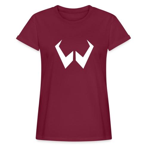 logo de without gravity pk - Camiseta holgada de mujer