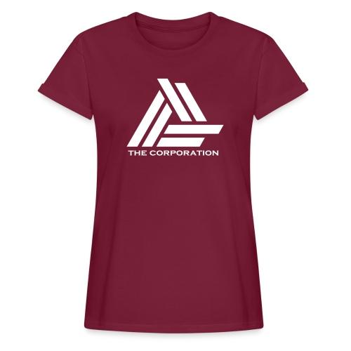 wit metnaam keertwee png - Women's Oversize T-Shirt
