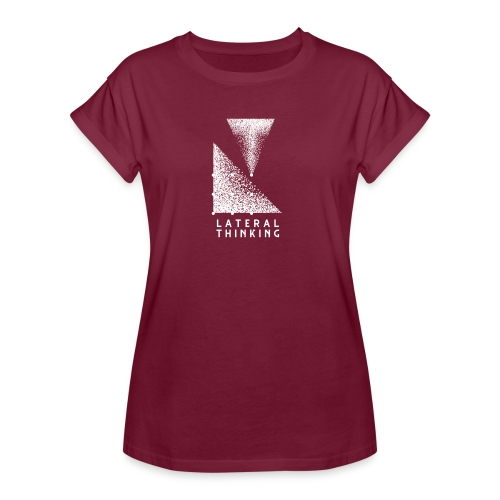 Lateral Thinking - T-shirt oversize Femme