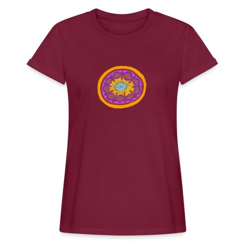 Mandala Pizza - Women's Oversize T-Shirt