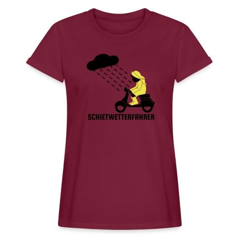 Schietwetterfahrer - Frauen Oversize T-Shirt