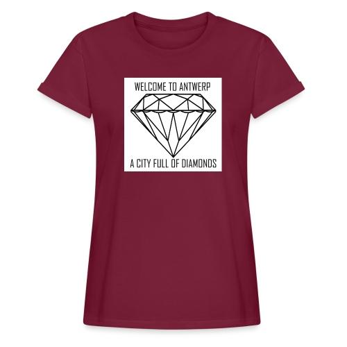 Antwerp lover - Vrouwen oversize T-shirt