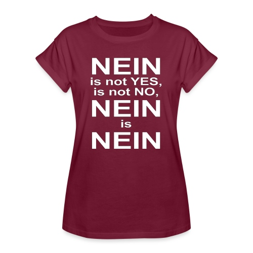NEIN! - Women's Oversize T-Shirt