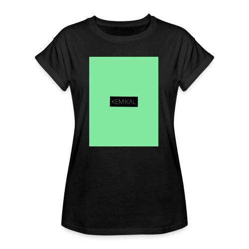KEMIKAL - Maglietta ampia da donna