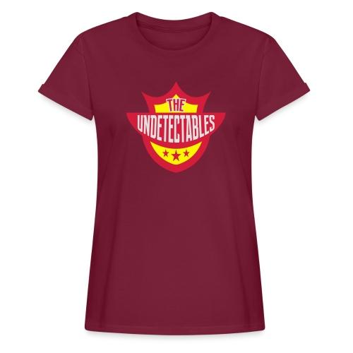 Undetectables voorkant - Vrouwen oversize T-shirt