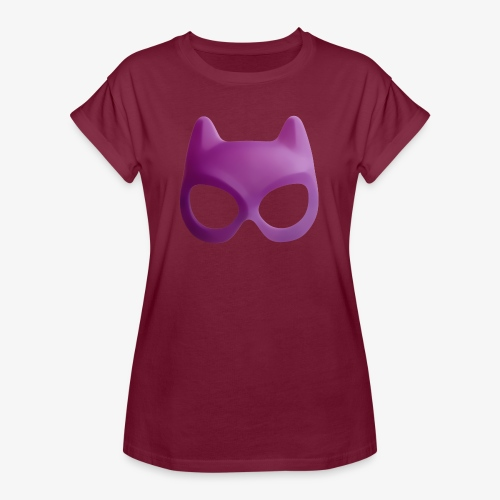 Bat Mask - Koszulka damska oversize