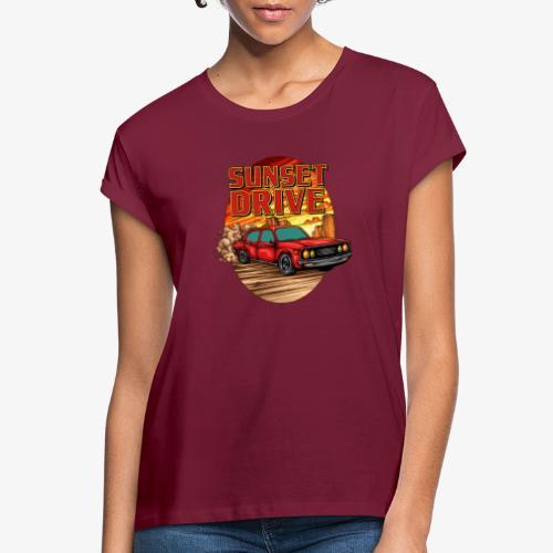 Sunset Drive - T-shirt oversize Femme