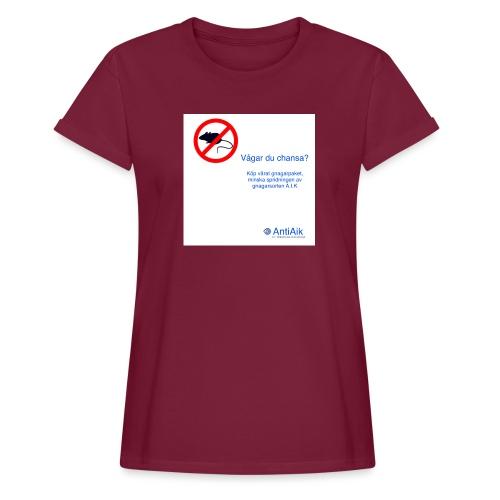 AntiAik - Oversize-T-shirt dam