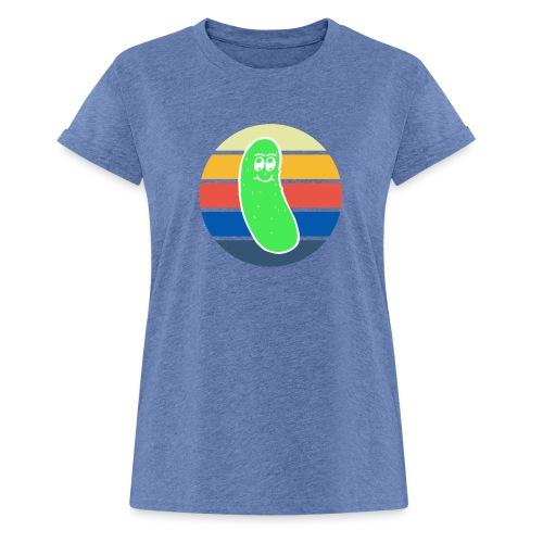 Vintage Colored Pickle #3 - Maglietta ampia da donna