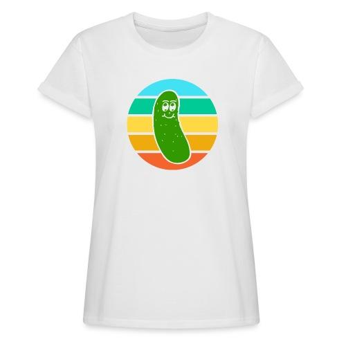 Vintage Colored Pickle #6 - Maglietta ampia da donna