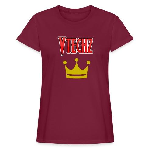 Vtechz King - Women's Oversize T-Shirt