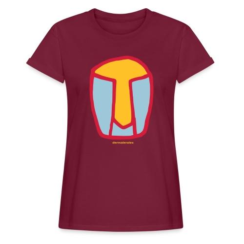 kopf abstrakt - Frauen Oversize T-Shirt