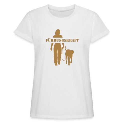 Vorschau: Führungskraft female - Frauen Oversize T-Shirt