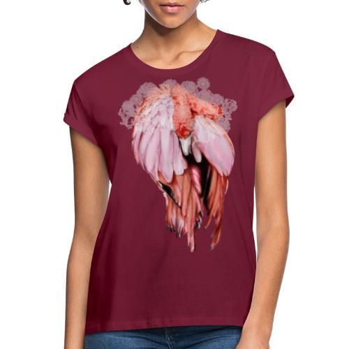 Fenicottero rosa - Maglietta ampia da donna