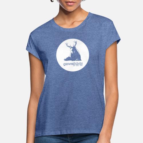 geweihbär - Frauen Oversize T-Shirt