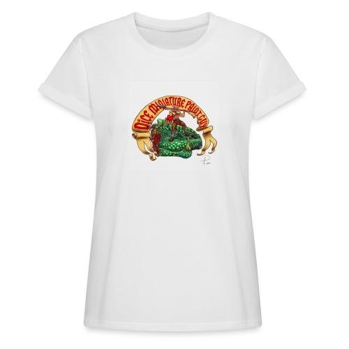 DiceMiniaturePaintGuy - Women's Oversize T-Shirt