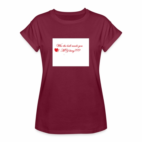 LoveYourselfTheMost - Women's Oversize T-Shirt
