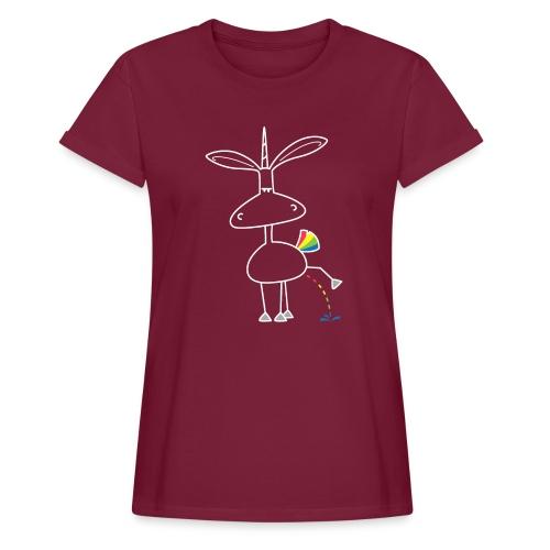 Dru - bunt pinkeln - Frauen Oversize T-Shirt
