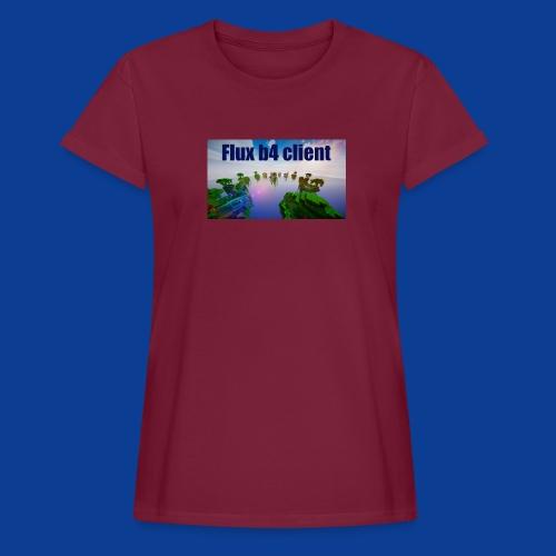 Flux b4 client Shirt - Women's Oversize T-Shirt