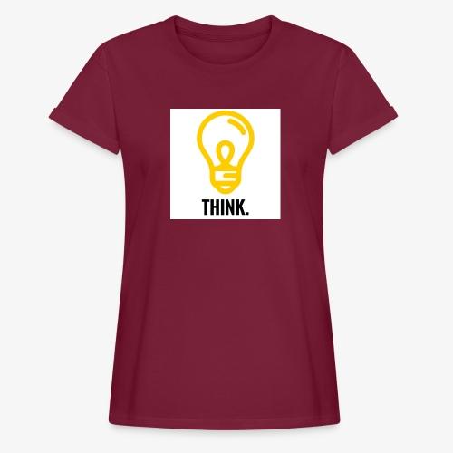 THINK - Maglietta ampia da donna