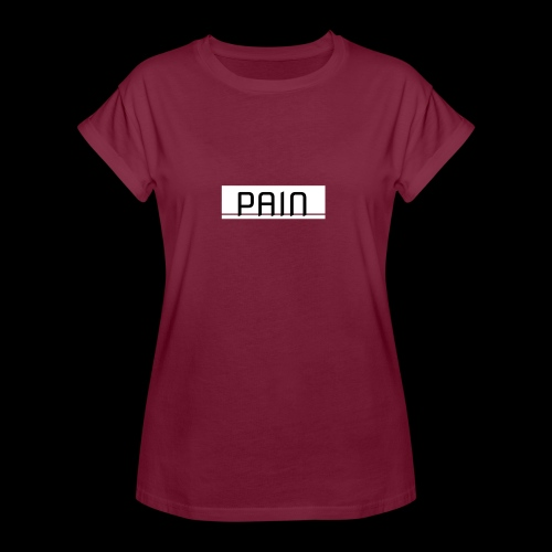 pain - Koszulka damska oversize