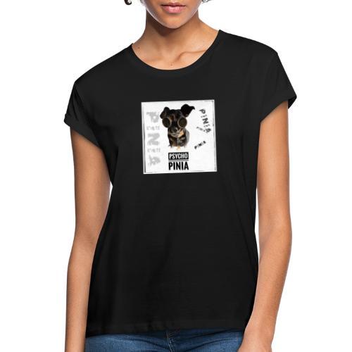 Psycho Pinia - Frauen Oversize T-Shirt