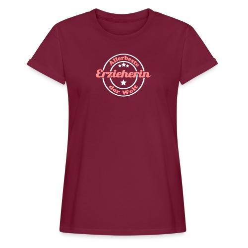 Erzieherin Stern - Frauen Oversize T-Shirt