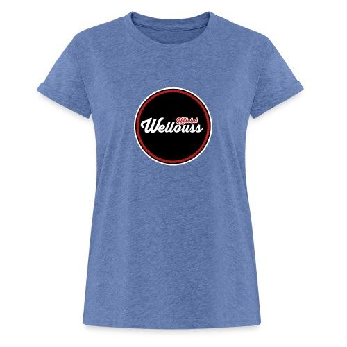 Wellouss Fan T-shirt | Rood - Vrouwen oversize T-shirt