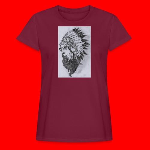 indian - Maglietta ampia da donna