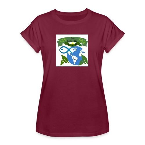 logo dumble baits - T-shirt oversize Femme