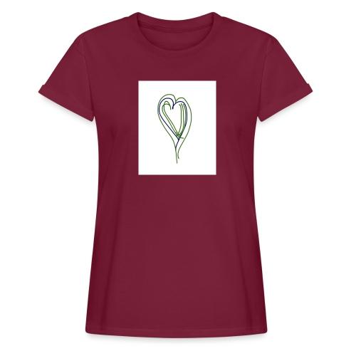 Corazon - Camiseta holgada de mujer