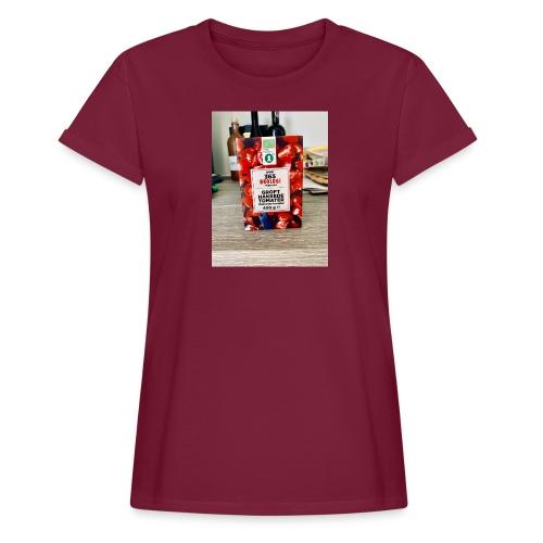 Tomato - Dame oversize T-shirt