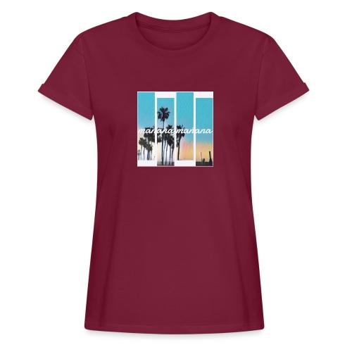 MANANA - Oversize-T-shirt dam