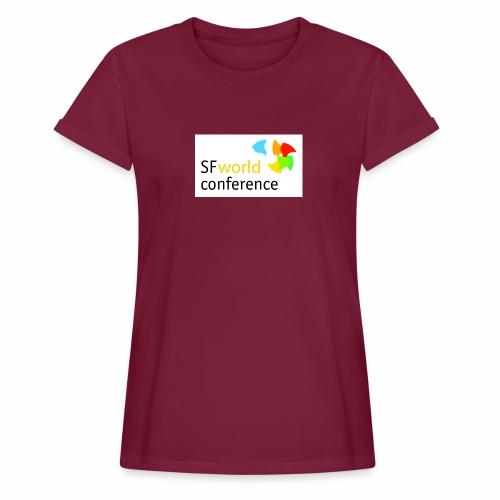 SFworldconference T-Shirts - Frauen Oversize T-Shirt