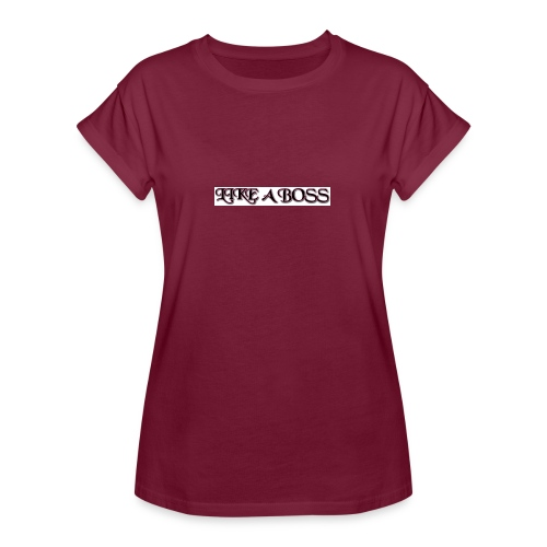 like a boss tops - Women's Oversize T-Shirt