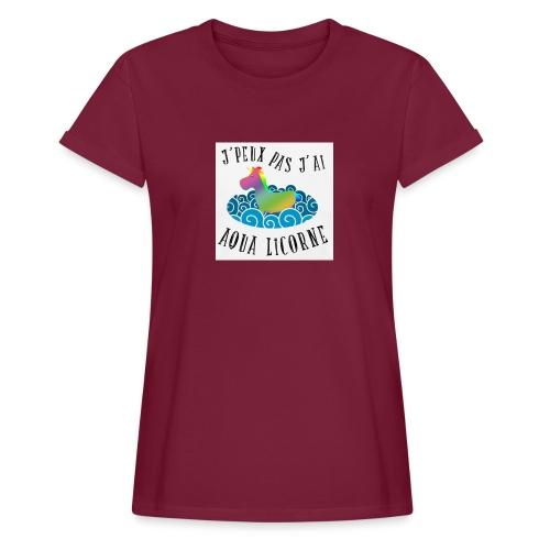 image - T-shirt oversize Femme