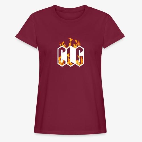 CLG DESIGN - T-shirt oversize Femme