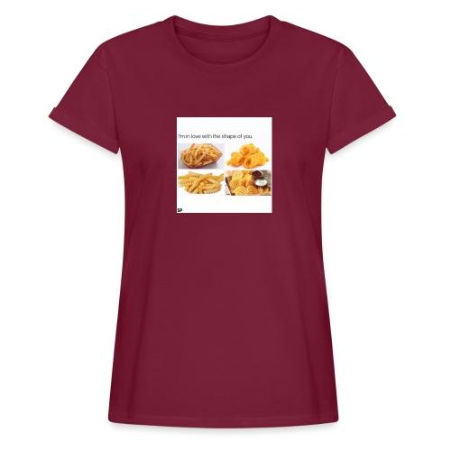 Shape - Frauen Oversize T-Shirt